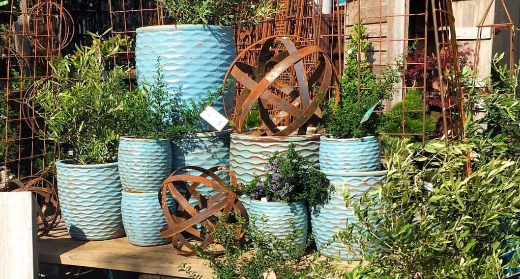 Outdoor Glazed Pottery